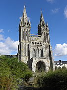 Saint-Pol-de-Léon (29) Cathédrale Façade occidentale 01.JPG