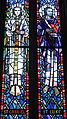 Saint Anthony of Padua Catholic Church (Dayton, Ohio) - stained glass, Sts. Gabriel & Luke.JPG