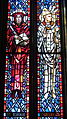 Saint Anthony of Padua Catholic Church (Dayton, Ohio) - stained glass, Sts. Jerome & Gregory the Great.JPG