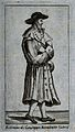 Saint Benedict Joseph Labre. Line engraving. Wellcome V0031692.jpg