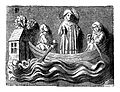 Saint Julien ferrying Jesus over the water. Wellcome M0001075.jpg