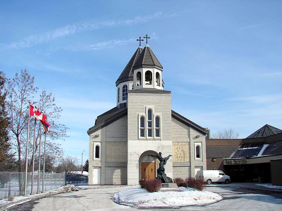 Saint Mary Armenian Church in Toronto, Canada