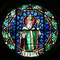 Saint Patrick Catholic Church (Junction City, Ohio) - stained glass, Saint Patrick.jpg