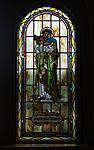 Saint Paul Catholic Church (Westerville, Ohio) - stained glass, arcade, Saint Rose of Lima.jpg