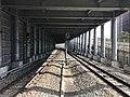 Sakurajima Line from platform of Sakurajima Station.jpg