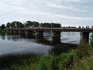 Salacgrīva - Image: Salatsi sild üle Salatsi jõe