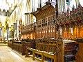 Salisbury Cathedral choir stalls.JPG