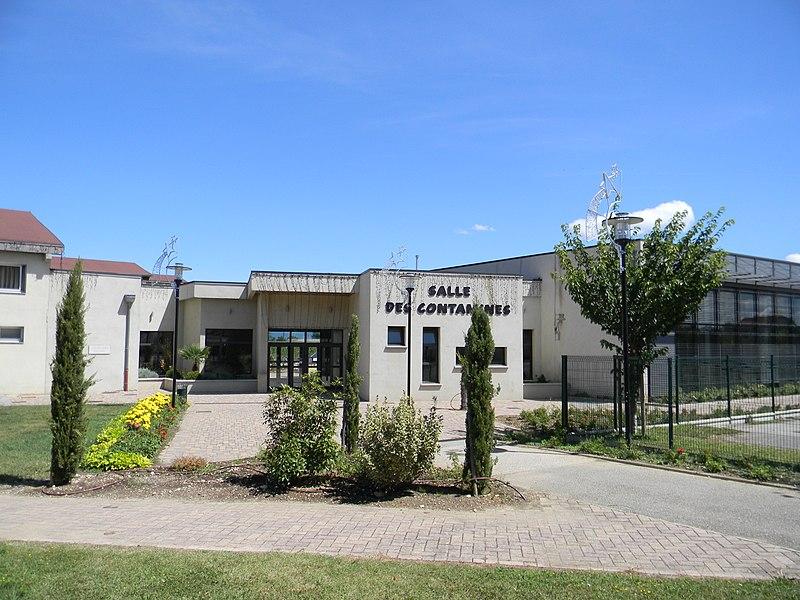 Salle des Contamines à Chavanoz.