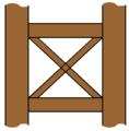 Saltire timber framing.png