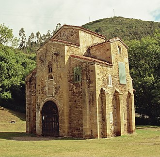Oviedo - San Miguel de Lillo (Pre-Romanesque shrine)