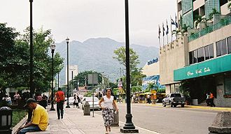 Economy of Honduras - Downtown San Pedro Sula.