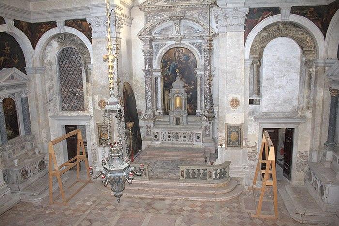 San Beneto interno
