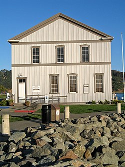 San Francisco & Northern Pacific Railroad Depot (Tiburon, CA).JPG