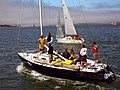 """San Francisco Bay - Municipal Pier """"Sailboat framing Sailboat"""" (1028298988).jpg"""