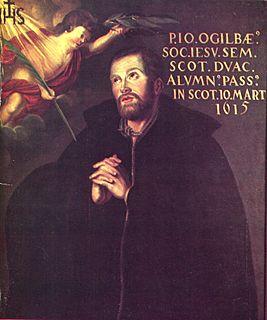 John Ogilvie (saint) 16th and 17th-century Scottish Jesuit saint and martyr