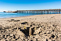 Sand Castle and Pier at Seacliff State Beach (11811849293).jpg