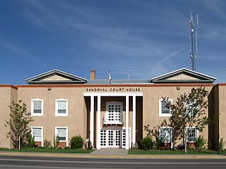 Sandoval County, New Mexico - Image: Sandoval County New Mexico Court House