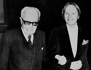 Nilde Iotti - President of the Chamber of Deputies Leonilde Iotti together with President Sandro Pertini.