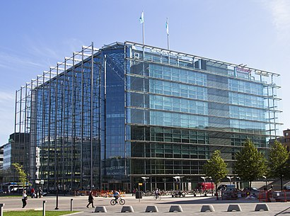 How to get to Sanomatalo with public transit - About the place