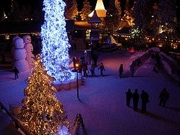 Casa Babbo Natale Rovaniemi Finlandia.Santa Claus Village Wikipedia