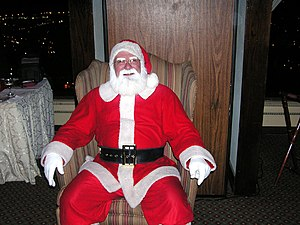 """Father Christmas"" is often synonymo..."