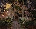 Santiago Rusiñol - Jardin con pileta.jpg