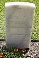 Sapper M C Donaldson gravestone in the Wagga Wagga War Cemetery.jpg