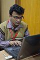 Sarban Bandyopadhyay - Bengali Wikipedia Editathon - Bengali Wikipedia 10th Anniversary Celebration - Jadavpur University - Kolkata 2015-01-10 3194.JPG