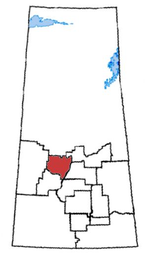 Saskatoon—Wanuskewin - Saskatoon—Wanuskewin in relation to other Saskatchewan federal electoral districts