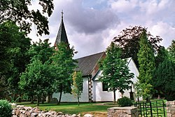 Satrup (Mittelangeln), the church St. Laurentius.jpg