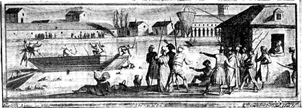 The drownings at Savenay during the War in the Vendee, 1793 SavenayDrownings.jpg