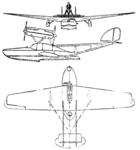 Savoia-Marchetti S.63 3-view Le Document aéronautique November,1927.png