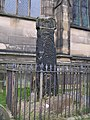Saxon cross, All Saints' Church, Bakewell - geograph.org.uk - 225947.jpg