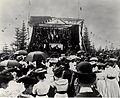 Scène Convention nationale acadienne 1905 Caraquet.JPG
