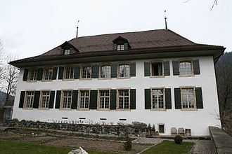 Zweisimmen - Blankenburg Castle, seat of the Bernese administrator 1386-1798