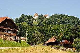 Burgistein - Burgistein Castle above Burgistein-Dorf