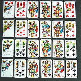 jeu carte a 2 Soixante six (jeu de cartes) — Wikipédia