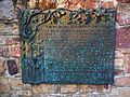 Schriesheim Winzerfigur Januar 2012 Inschrift.JPG