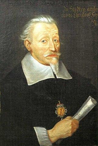 Портрет Генриха Шютца кисти Кристофера Спетнера, около 1650/1660