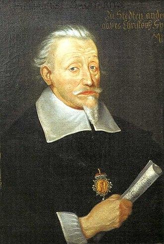 Heinrich Schütz - Heinrich Schütz, c. 1650–60 (Leipzig), by Christoph Spetner