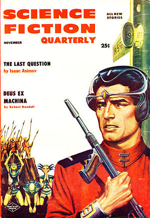 The Last Question - Image: Science fiction quarterly 195611