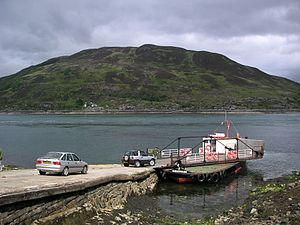 Glenelg, Highland - Image: Scotland Glenelg Kylerhea ferry