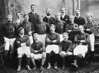 History of the Scotland national football team - The Scotland squad that played the first ever international football match in 1872.