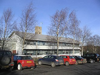 Scottish Borders - Part of the Scottish Borders Council offices at Newtown St. Boswells