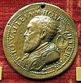Scuola romana, medaglia di jean parisot de la vallette, cavaliere di gerusalemme.JPG