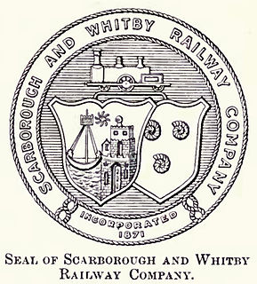 Scarborough and Whitby Railway English railway company bought by the North Eastern Railway in 1898