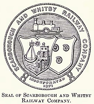 Scarborough and Whitby Railway - Image: Seal of the Scarborough and Whitby railway