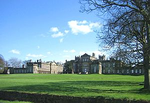 Baron Hastings - Seaton Delaval Hall, the former seat of the Astley and Delaval families, who intermarried