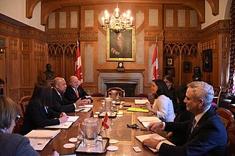 Jody Wilson-Raybould - Meeting with US Secretary of Homeland Security Jeh Johnson in Ottawa on October 26, 2016