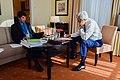 Secretary Kerry Works With Speechwriter Imbrie as He Finalizes Keynote Address to World Economic Forum in Switzerland (24169319919).jpg